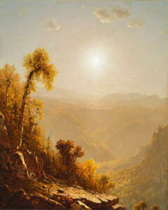 Sanford Robinson Gifford October in the Catskills Giclee Paper Print Poster