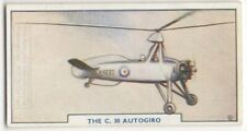 Autogyro Gyrocopter Rotorcraft Flying Aircraft 1930s Trade Ad Card