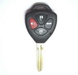 Remote Car Key Fob Shell Case For 2007 2008 2009 2010 2011 Toyota Camry Rav4