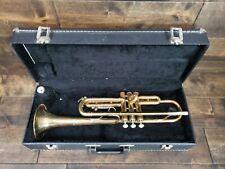 Buescher Aristocrat Trumpet Pre-owned w/ Hard Case + Mouthpiece No Reserve!