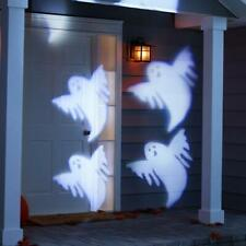 Halloween Philips Motion Projector with LED Bulbs Ghosts Cool White
