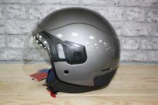 Vespa PJ Grey Motorcycle Helmet SIZES MEDIUM AND EXTRA LARGE