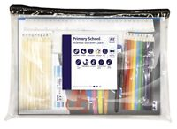 33 Pc Essential School Student Stationery Pack Set Pens Pencils Glue Pad+ PSEP