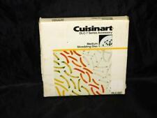 Cuisinart Food Processor DLC-7 Medium Shredding Disc Accessory Shred