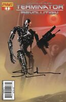 Simon Furman Hand Signed Autograph Terminator Revolution Comic Book wCOA