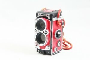 [Read] Rolleiflex MiniDigi Red Digital Camera from Japan #2585