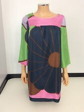 TIBI 100% Silk Tunic Dress Uk Size S Uk 6