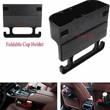 Car Back Seat Headrest Cup Holder Foldable Bottle Mount Stand Holders Storage US