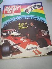 AUTOSPRINT novembre 1976 n. 45 - BUONO!