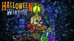 NEW Atmosfx Halloween Window