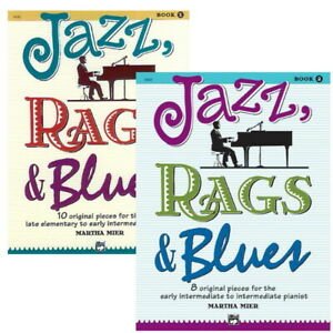 Jazz, Rags and Blues by Martha Mier - Options Book 1 or 2