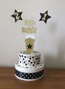 Cake Decoration Beer Glass Birthday 18th 21st 30th 40th 50th 60th 70th 80th