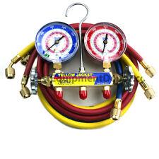Yellow Jacket 42004 Manifold Gauge And Hose Set 60 In Hoses