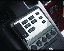 Goldwing GL1500 Chrome Radio Accent Panel / 8 Button (B52-561)