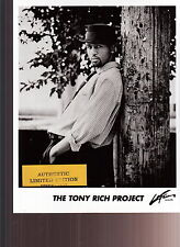 the tony rich project limited edition press kit