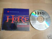 HORSE Celebrate OOP 1993 GERMANY CD single 2 live trks