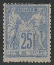 "FRANCE STAMP TIMBRE N° 78 "" TYPE SAGE 25c OUTREMER "" NEUF x TTB A VOIR  K415"