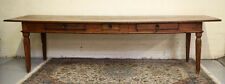 17th -18th Century Italian Long Rustic Dining table with three drawers