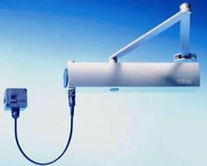 GEZE TS4000E E-Mag Hold Open Door Closer, Variable Closing Force 1-6 to EN1155