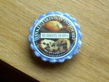 "YANKEE CANDLE RETIRED USA EXCLUSIVE  "" BLUEBERRY MUFFIN   ""  WAX TART MELT"