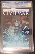 CIVIL WAR #3 CGC 9.0   *  MIGHTY THOR CLONE * 2006 * VARIANT COVER *