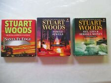 "3  ""Stuart Woods / Stone Barrington Unabridged Cd Audiobooks""  Very Nice"