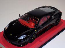 1/18 Looksmart Mr Ferrari F430 Scuderia Nero Ds 1250 Black Wheels Leather Lim 25