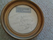 Framed autograph Mickey Rooney Sugar Babes rehearsal May 4 1979 1208 performance