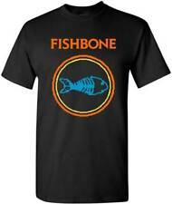 Fishbone Logo Ska Alternative Punk Funk Metal Rock Music Band T Shirt FIS-1001