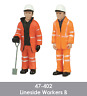 Scenecraft 47-402 Lineside Workers Figures Pack B (2PK) O Gauge