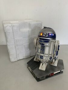 "12"" Sideshow Star Wars R2D2 Droid Premium Format PF Light Up 1/4 Statue MINT !"
