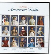 Stamps Full Sheet # 3151 American Dolls 32 cent Mnh 1994