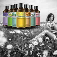 100% Pure Essential Oils 100ml Therapeutic Grade Aromatherapy Free Shipping SPD