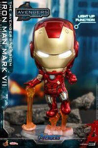 Stock Avengers Endgame Hot Toys COSB782 COSBABY Iron Man Mark VII  Gift