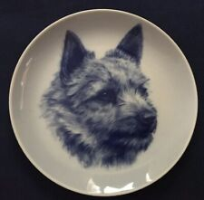 New listing Norwich Terrier - Dog Plate made in Denmark from the finest European Porcelain