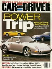 CAR & DRIVER 1997 JULY - PORSCHES, DINAN, CLK320, 4X4s