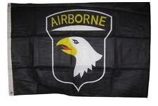 2x3 Army 101st Airborne Division Black Knitted Flag  2'x3' Banner grommets