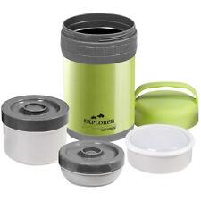EXPLORER Edelstahl Thermo Foodbehälter Essenbehälter Thermobehälter 1,5L Camping
