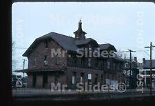 Original Slide PRR Pennsylvania RR /PC Lambertville NJ Station In 1974