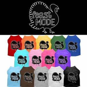 Feast Mode Screen Print Pet Puppy Cat Dog Shirt