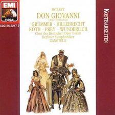 Mozart: Don Giovanni (Großer Querschnitt deutsch) HANS ZANOTELLI Prey Wunderlich