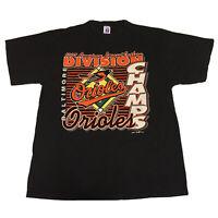 VTG 90s Baltimore Orioles T-Shirt Men's XL MLB Baseball 1997 Official Logo 7 OG