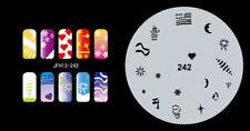Fingernagel Schablone (airbrush nail art) JFH13-242