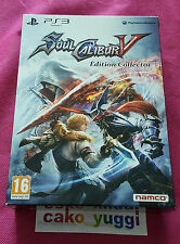 SOUL CALIBUR V SOULCALIBUR V EDITION COLLECTOR T.B ETAT  SONY PS3 + STEELBOOK