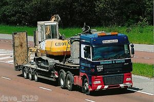 Truck Photo: BRENNAN & COATES Heavy Haulage of DURHAM - DAF XF - PN04 XCD