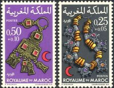 Marocco 1970 Croce Rossa/medico/salute/benessere/Gioielli Set 2 V (n32520)