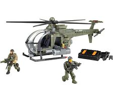 CHOPPER STRIKE Mega Bloks CALL OF DUTY 06816 War Helicopter Soldiers no box COD