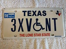 TEXAS SPECIAL DEAL- £3.99 - Genuine Pre-Owned USA License Plates - Pick Your Own