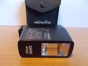 Sunpak MX112 Flash vintage camera