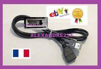 Cable USB PEUGEOT CITROEN AUTORADIO RT6 RD5 RD9 RD45 RD43 AUX USB PSA